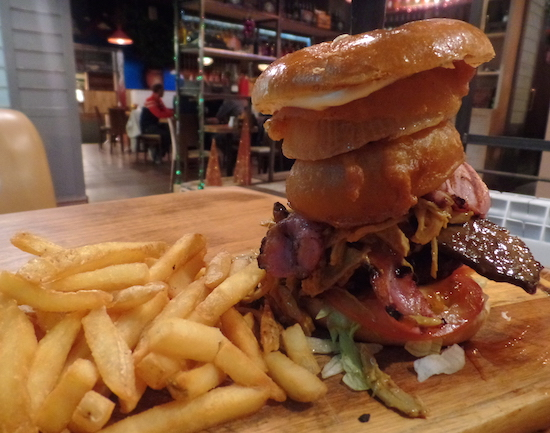 Jim's Smokehouse Nottingham Burgers