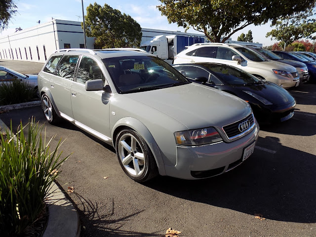 2004 Audi Allroad in a new color from Almost Everything Auto Body.