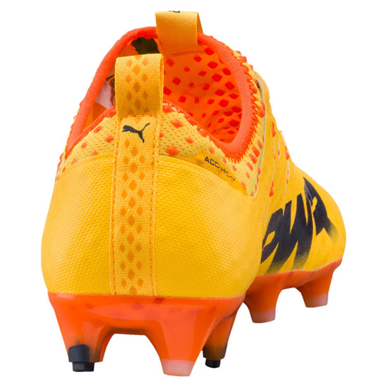 The orange Puma evoPOWER Vigor soccer boots come with the same Pebax  outsole as the previous generation. The Ultra Yellow ... cf53366d0