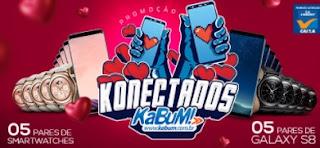 Promoção Kabum 2017 Konectados Concorra Samsung Galaxy S8