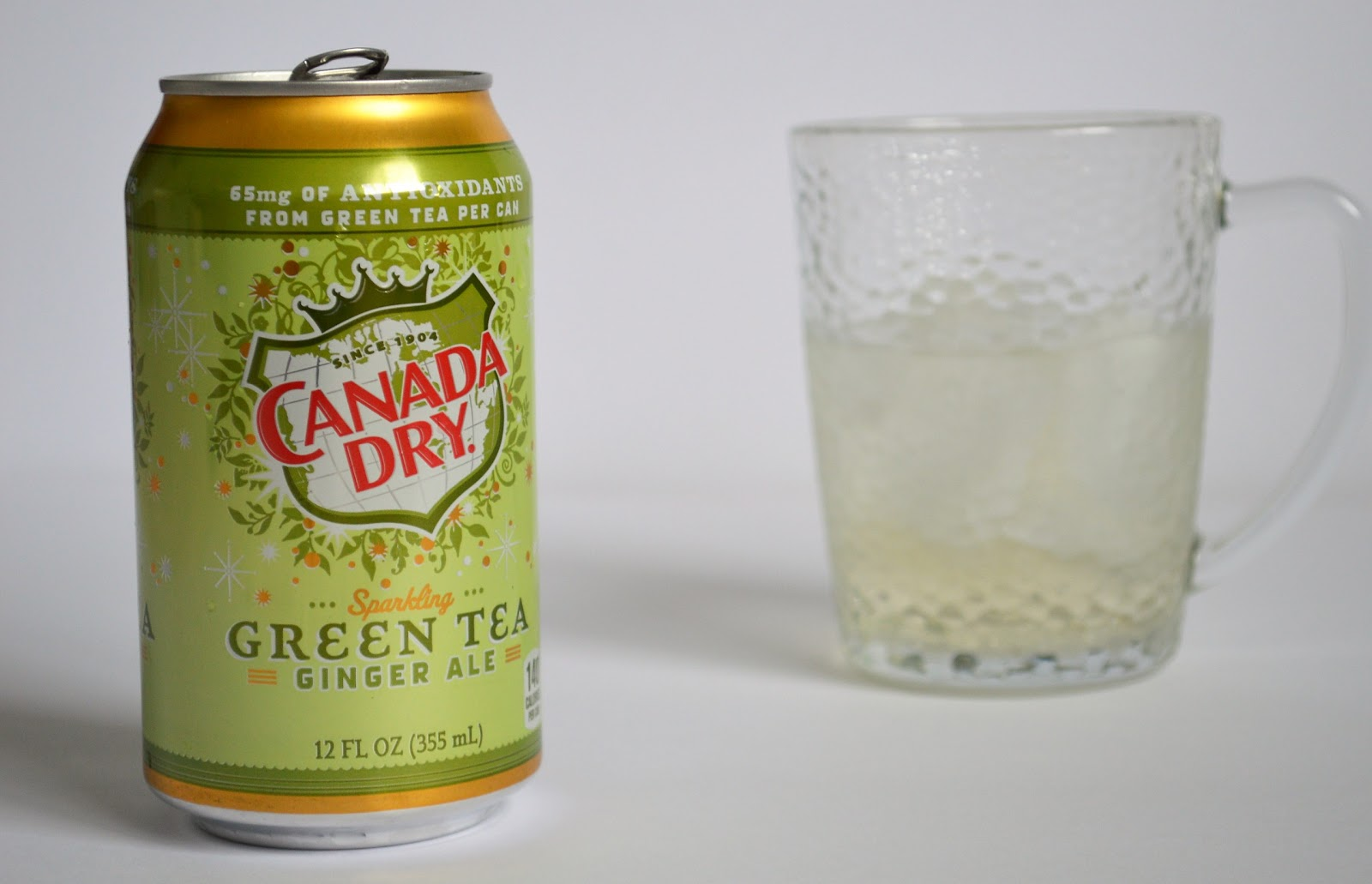 So We Finally Found Canada Dry Sparkling Green Tea Ginger Ale!