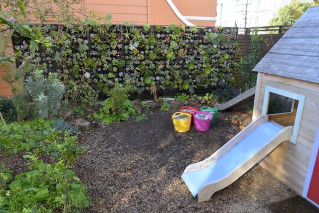 jardin vertical infantil