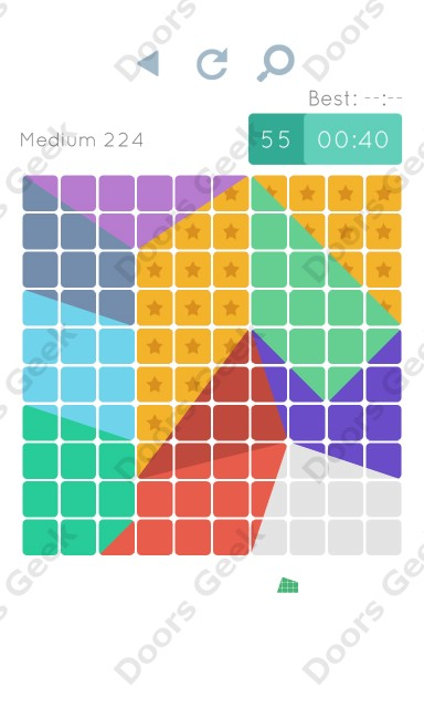 Cheats, Walkthrough for Blocks and Shapes Medium Level 224