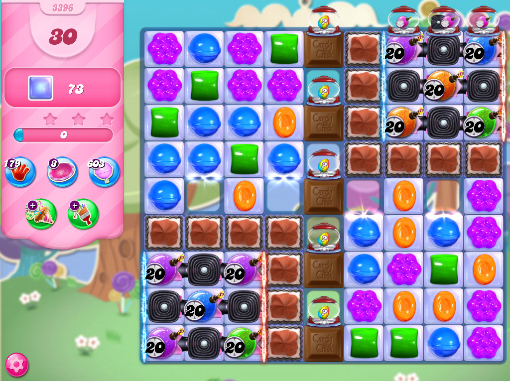 Candy Crush Saga level 3396