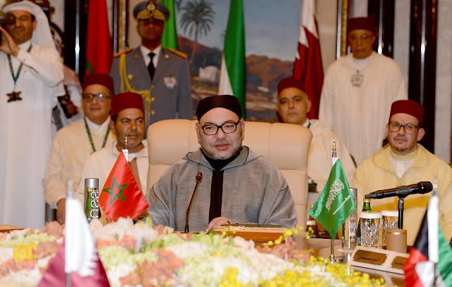 Mohamed VI annonce que ni les Arabes, ni les Musulmans, ni l'Afrique ne se laisseront faire.
