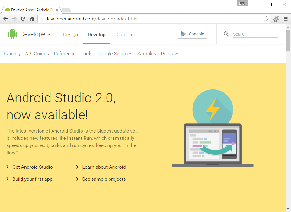Android-er: Android Studio 2.0 and Emulator 25.1.1 are ...