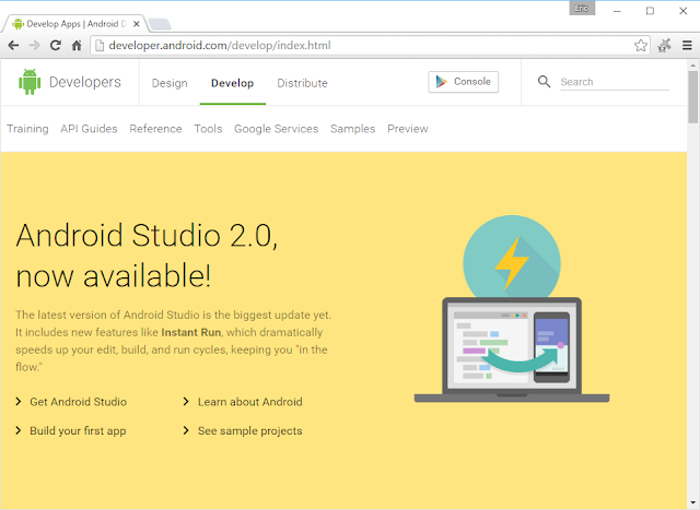 Android Studio 2.0 Together With Emulator 25.1.1 Are Officially Now