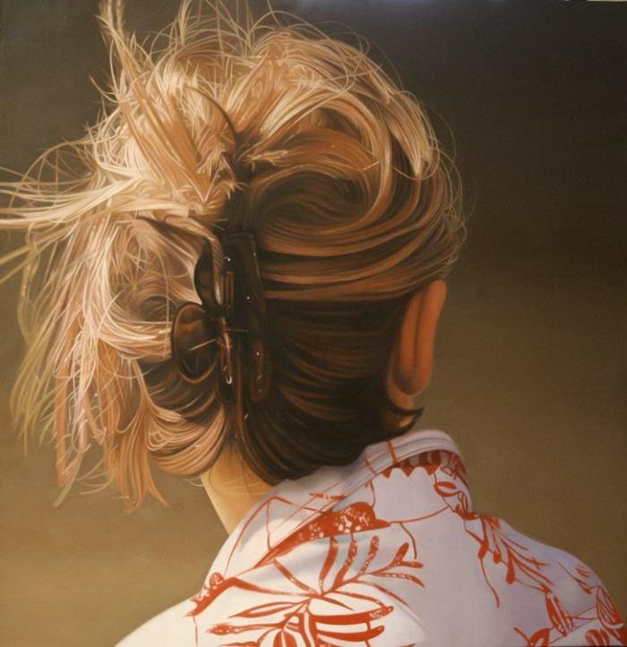 Французский художник-гиперреалист. Jacques Bodin
