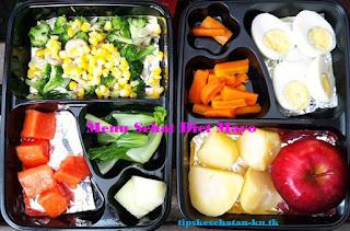 menu sehat diet mayo 13 hari