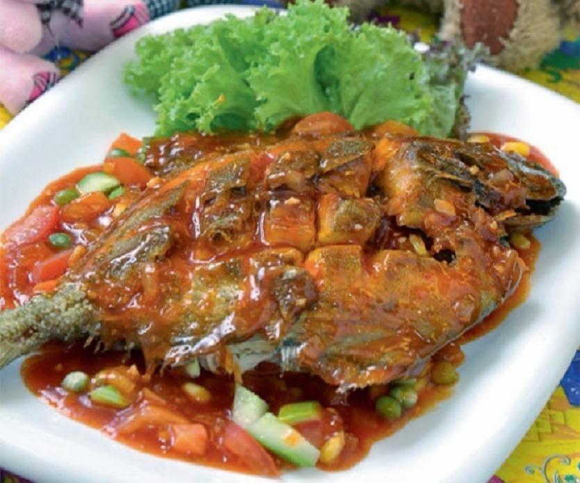 Resepi Ikan Bawal Sweet Sour Ala Thai ~ Resep Masakan Khas