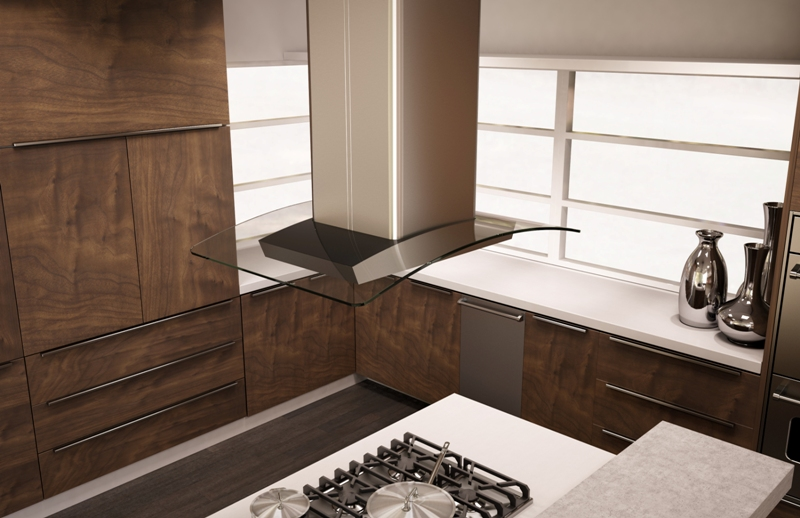 Kitchen Island Range Ventilation