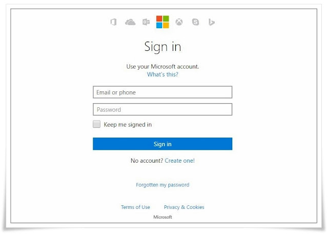 Hotmail.com Sign in