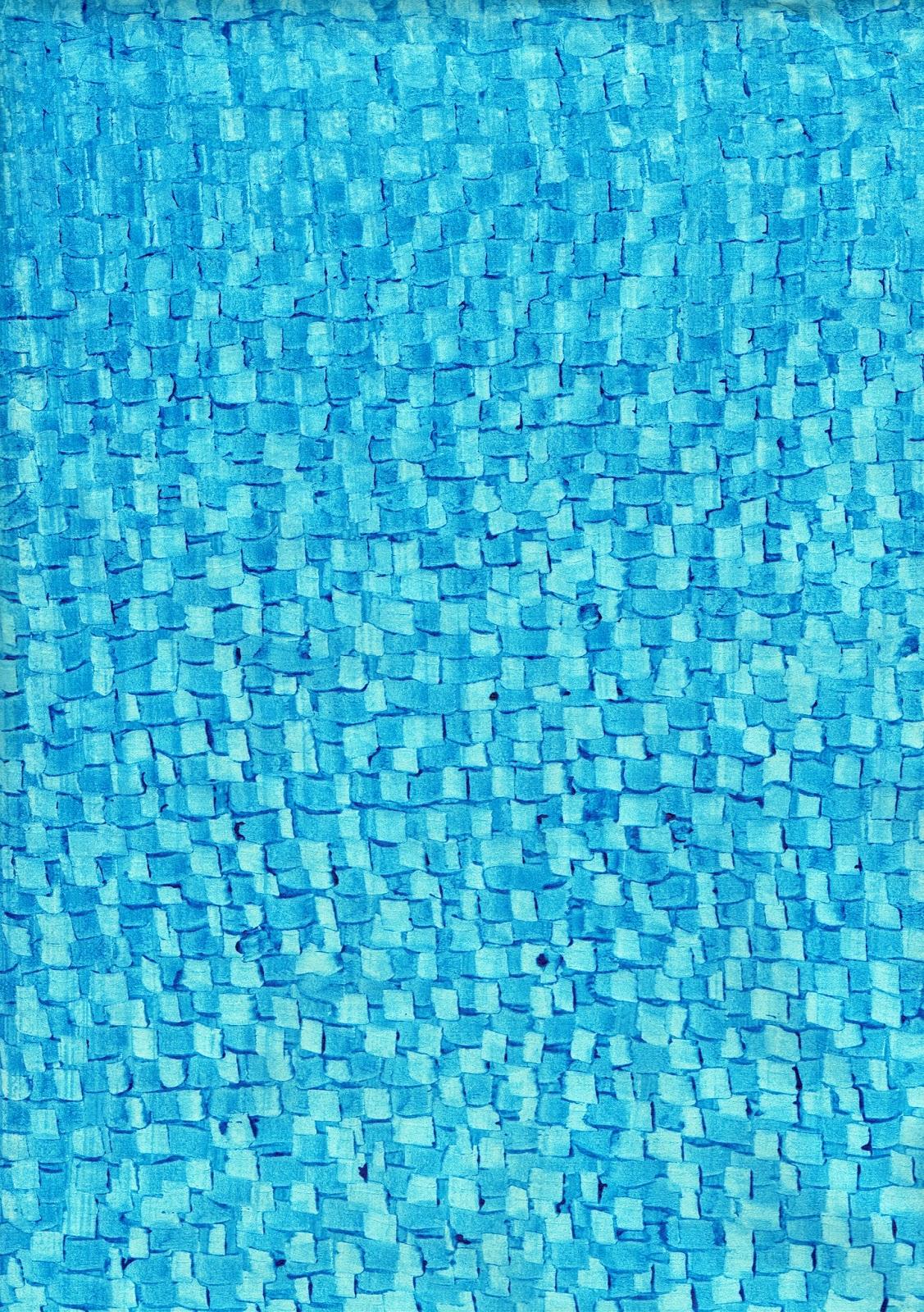 Papel al engrudo azul