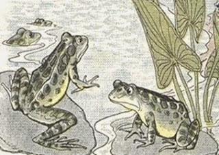 Le rane e il Sole (Esopo)