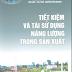 SÁCH SCAN - Tiết kiệm và tái sử dụng năng lượng trong sản xuất - PGS.TSKH Nguyễn Xuân Nguyên