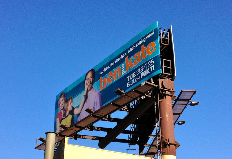 Ben Kate sitcom billboard