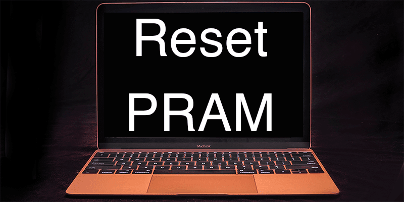reset PRAM on Mac