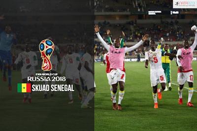 Skuad Susunan Pemain Senegal di Piala Dunia 2018