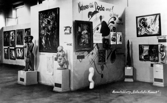 "The Degenerate Art Exhibition, an ""exhibition of shame"", depicting the ""deterioration of art since 1910"" was held in 1937 by the Nazi Party in Munich."