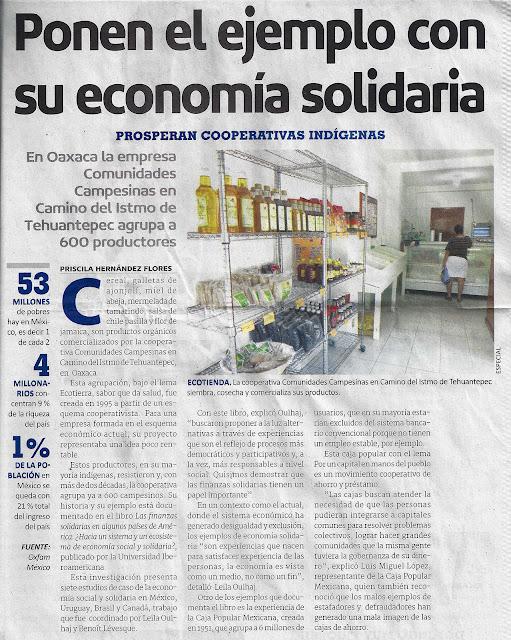 Derecho agrario les comparto la siguiente nota for Diario el mural de jalisco