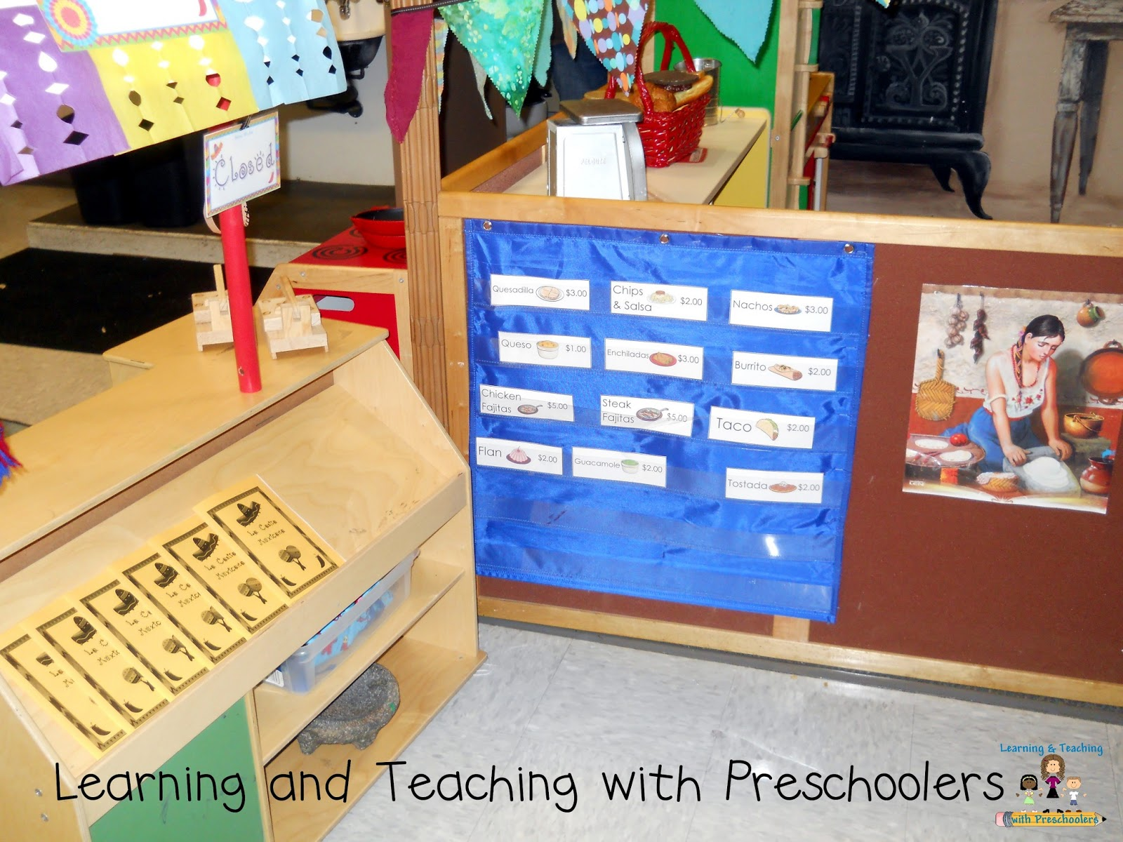 Learning And Teaching With Preschoolers Dramatic Play Mexican Restaurant