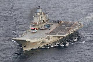 Kapal Induk Admiral Kuznetsov Rusia