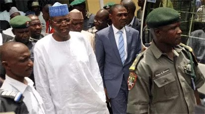 Image result for Ex-Jigawa governor, Sule Lamido remanded in prison