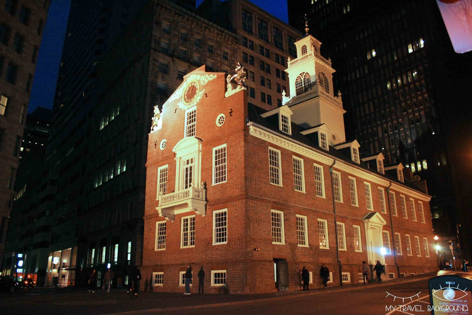 My Travel Background : Old State House