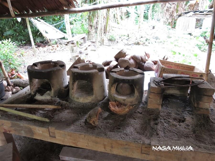 Dapur Kayu Arang Desainrumahid Kak Liza Corner Kampung Bahru