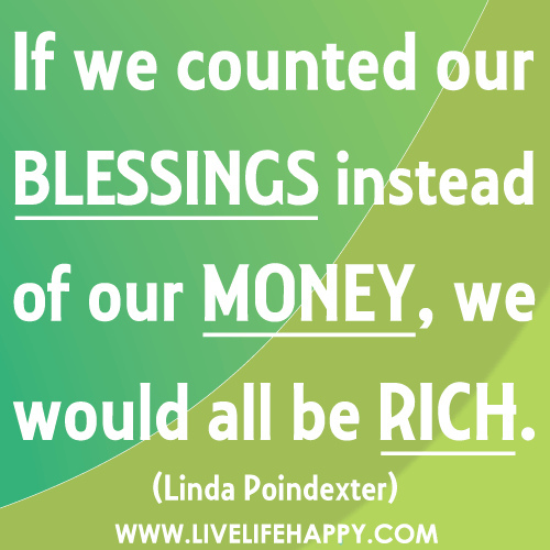 Quotes About Counting Your Blessings: Sports And Life By The Sports Kibitzer: Count Your Blessings