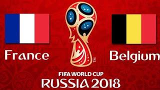 مشاهدة مباراة فرنسا و بلجيكا في كأس العالم 2018 الدور النصف النهائي بتاريخ 10-07-2018 موقع ماتش لايف