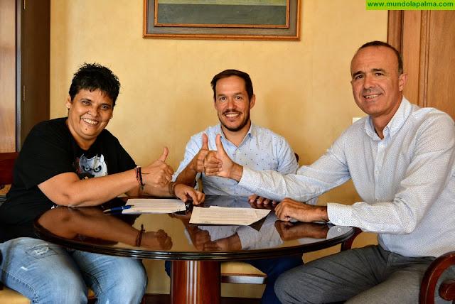 El Cabildo y la Federación Insular de Lucha Canaria se unen por la igualdad y la perspectiva de género en este deporte