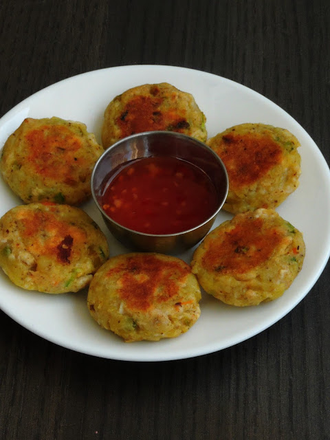 Puffed lotus seed cutlets