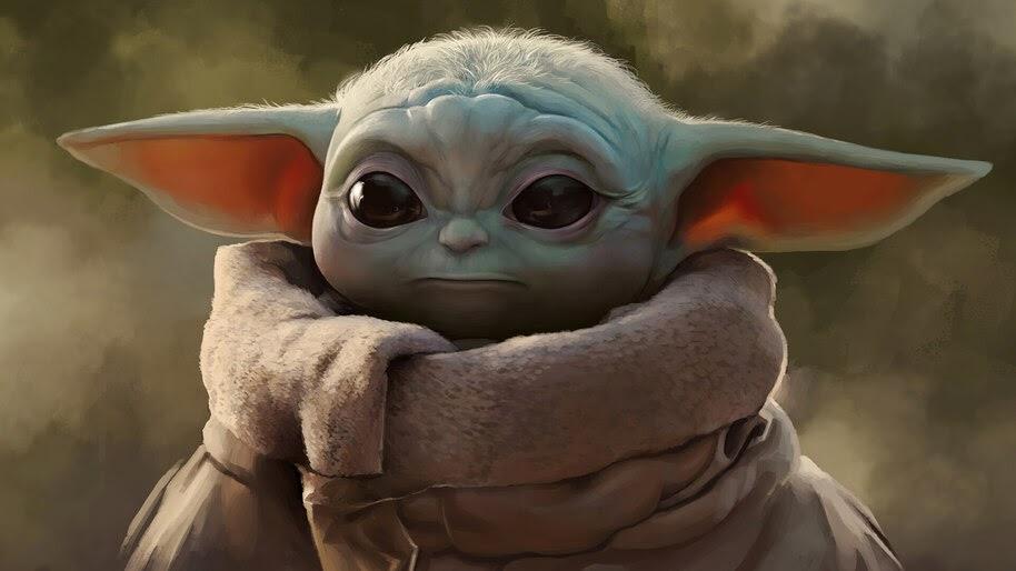 Baby Yoda, 4K, #7.757