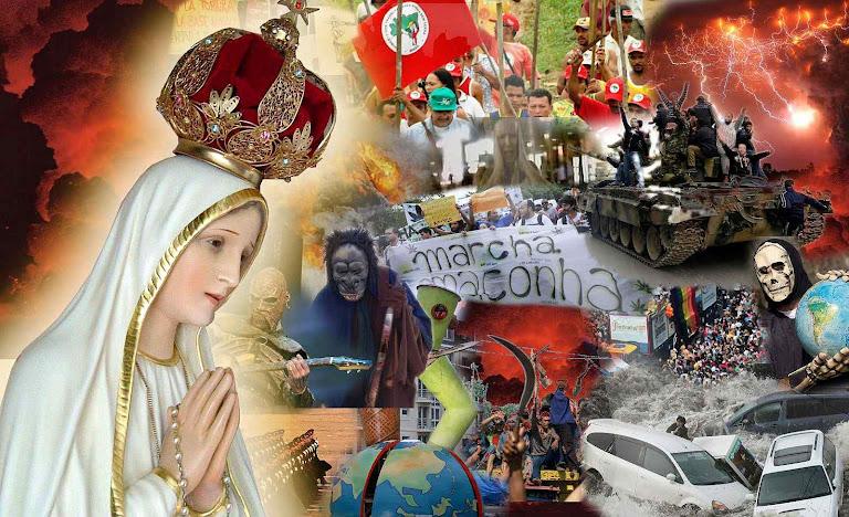 Nossa Senhora em Fátima advertiu o mundo para abandonar o rumo que deu no caos atual