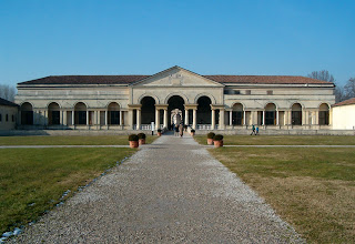 The Palazzo Te was designed for Federico as a summer residence just outside the walls of Mantua