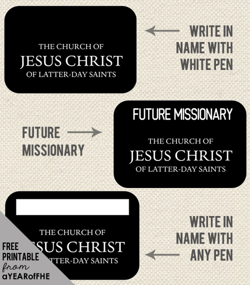 photo about Future Missionary Tag Printable titled Laurel Hemingway (laurelhemingway) upon Pinterest