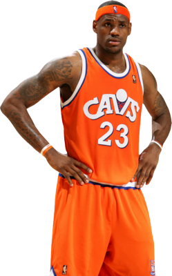 The Highest earning NBA players.LEBRON JAMES