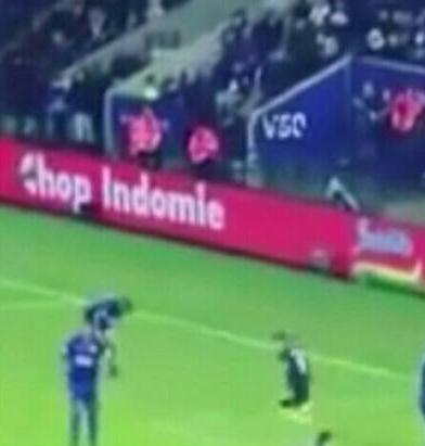 Wah, Ada Iklan Mi Instan Indonesia di laga Leicester City