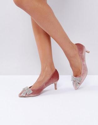 zapatos de tacon de punta