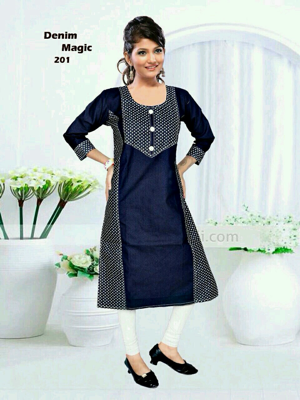 Denim – Unique Designer Stylish Kurti Buy Online