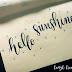 #SunFunAugust - podsumowanie wyzwania z brush letteringu