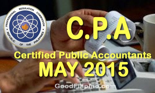 FULL LIST: CPA Board Exam Results List of Passers (May 2015)