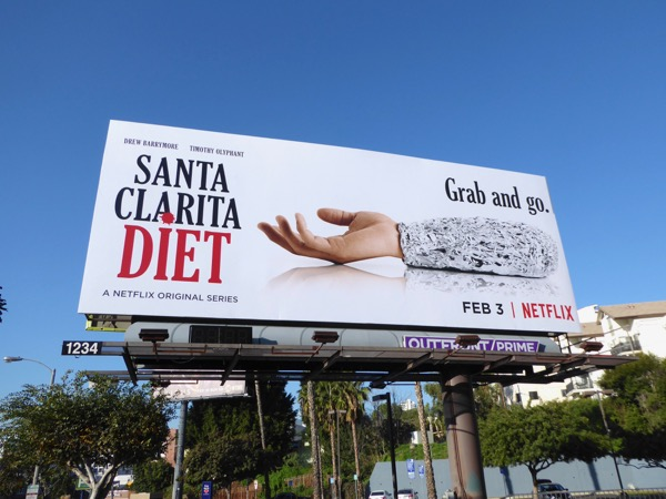 Santa Clarita Diet Grab and go billboard