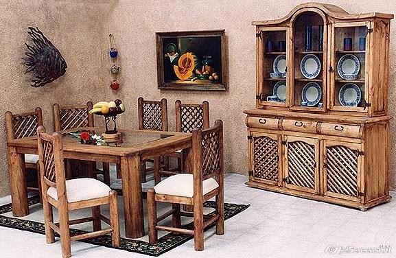 Cómo decorar muebles rústicos