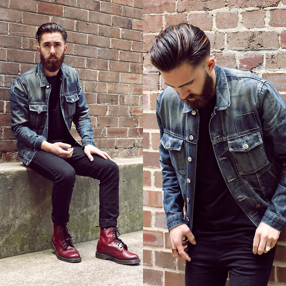 Men S Denim Jacket Style Guide Fashion Dress In The Present