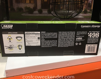 Costco 1088072 - Feit Electric 60-watt Replacement LED Dimmable Bulbs: versatile and great for any home