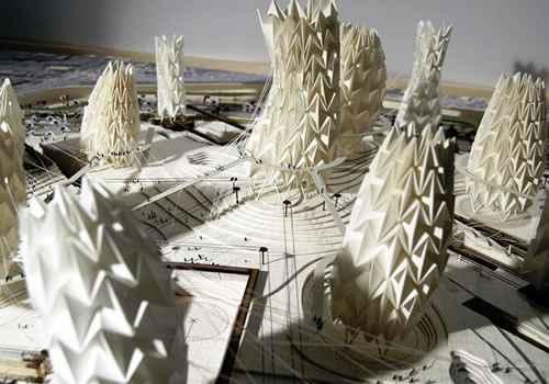 origami aplicado a diseño y arquitectura
