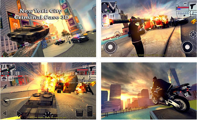 New York City Criminal Case 3D Apk For Android Like GTA