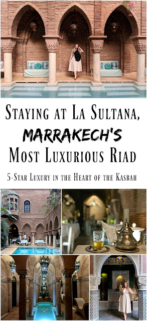 PIN FOR LATER: Staying at La Sultana, Marrakech's most luxurious riad hotel. Part of Small Luxury Hotels, this is a breathtaking traditional riad hotel in the heart of the Kasbah.